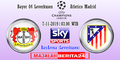 Prediksi Bayer Leverkusen vs Atletico Madrid — 7 November 2019