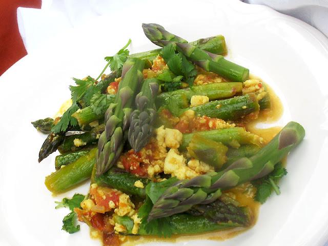 asparagus paneer