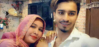 faiz baloch With His Mother