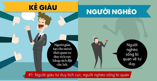 Sách nói: 10 điều khác biệt nhất giữa kẻ giàu và người nghèo
