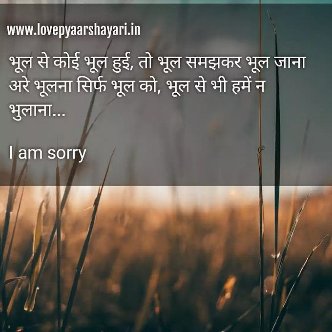 Best Sorry status for your love hindi, लव स्टेट्स