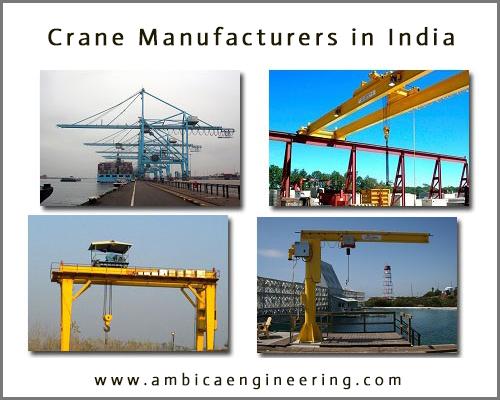 Crane Companies in India