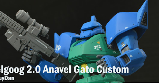 MG Gelgoog 2.0 Anavel Gato Custom