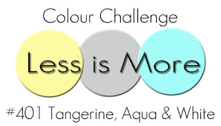 http://simplylessismoore.blogspot.com/2019/08/challenge-401-tangerine-aqua-and-white.html