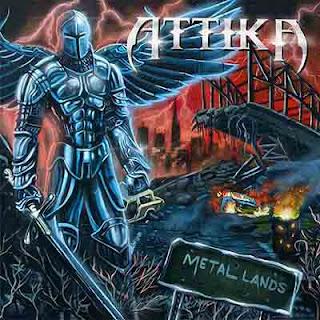 """Ο δίσκος των Attika """"Metal Lands"""""""