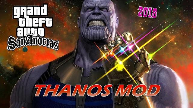 GTA San Andreas Thanos Mod With Powers