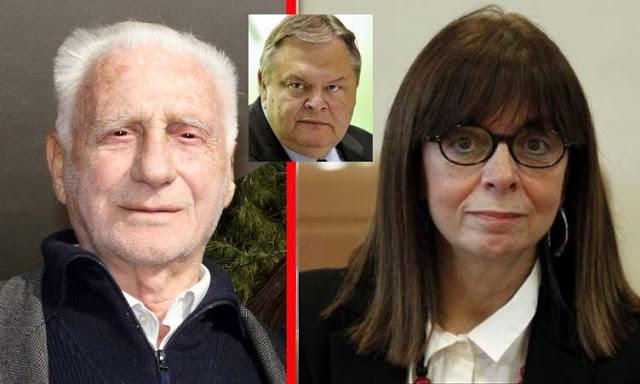 Η Α. Σακελλαροπούλου ψήφισε την αποβολή του Άρη Πουλιανού από το Σπήλαιο Πετραλώνων, που δρομολογήθηκε από τον Ευ. Βενιζέλο!!!