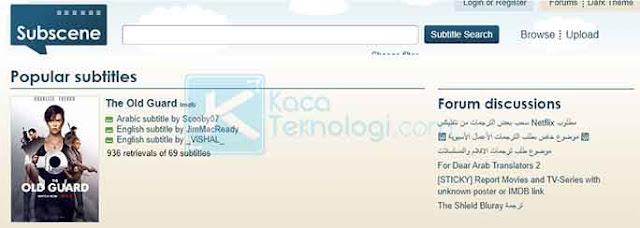 Imvsdata merupakan situs download subtitle Indonesia alternatif selain subscene.com, namun situs ini masih menggunakan basis data yang sama seperti subscene.