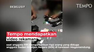 EKSKLUSIF! FPI Berhasil Amankan Terduga Anggota BIN yang Sedang Menyusup
