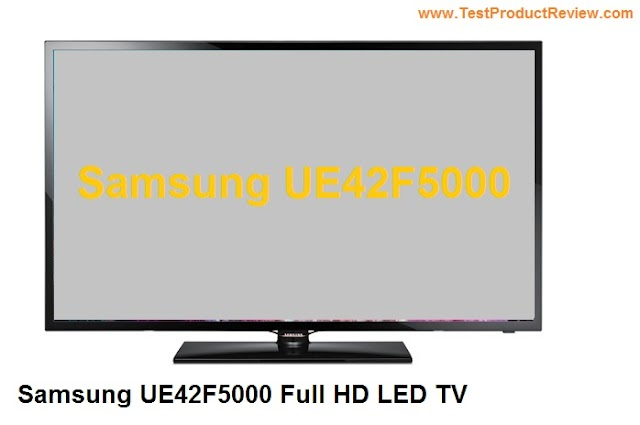 Samsung UE42F5000 Full HD LED TV review