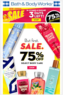 Bath & Body Works | Today's Email - January 17, 2020