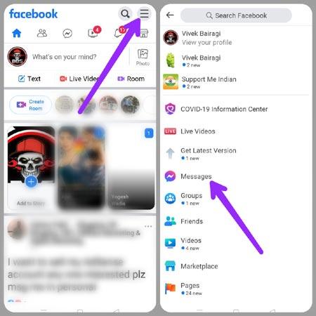 click-menu-in-fb-lite