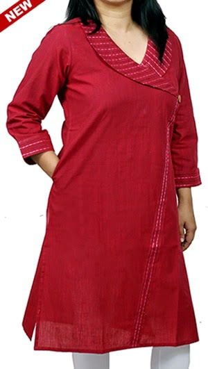 6850b6edcba8 One of the most common examples of fashionable ethnic wear is Kurti.  Basically