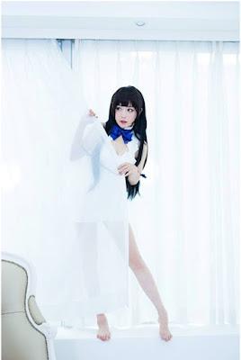 Kumpulan Foto Cosplayer Hestia, Salah Satu Waifu Paling Menggoda Sejagad Anime!