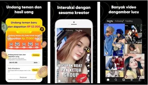 Snack Video Aplikasi Penghasil Uang