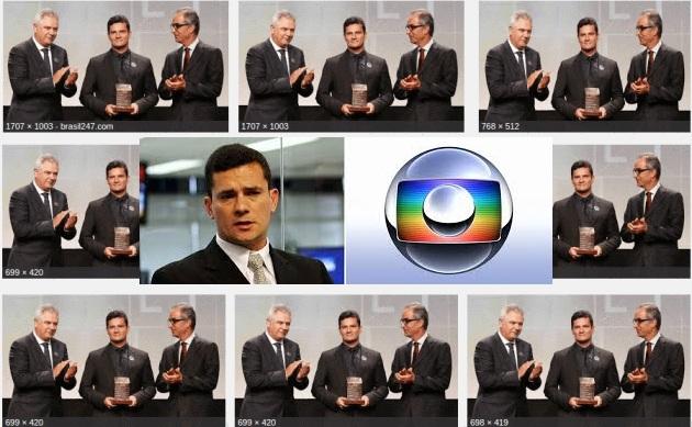 Resultado de imagem para Moro e tv globo