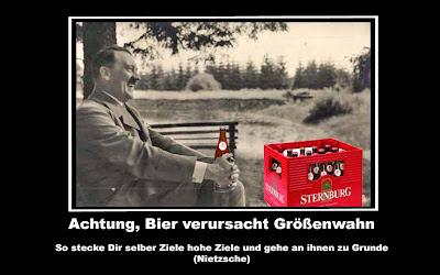 Hitler mit Bier lustige Bilder