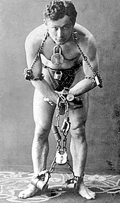 Harry Houdini, 1899