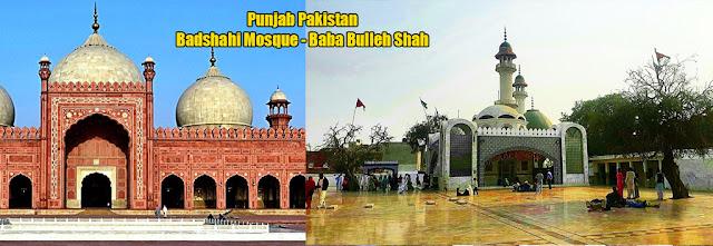 Punjab Pakistan Badshahi Mosque Baba Bulleh Shah