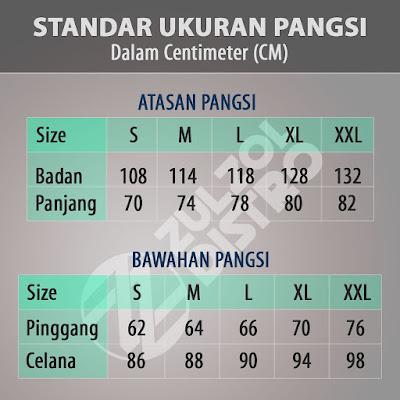 Ukuran Pangsi Sunda