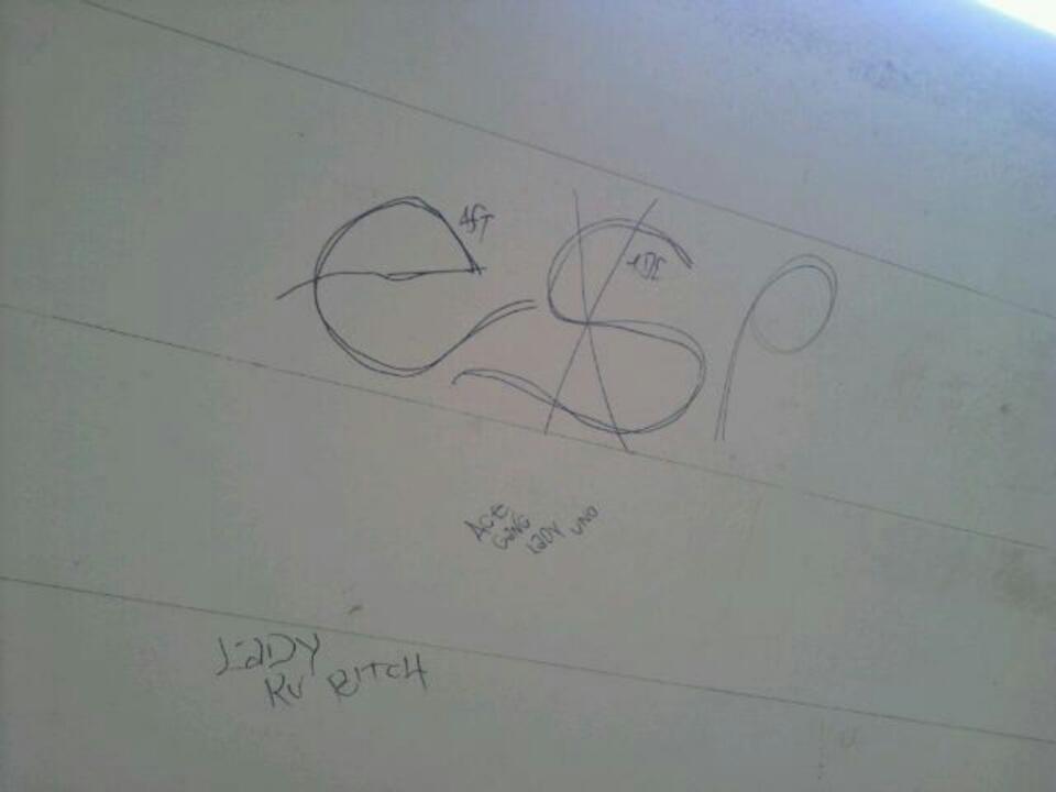 Tree Top Piru Graffiti