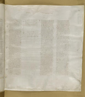 Codex Sinaiticus Luke