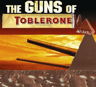 Guns of Toblerone Mashtag #filmbrands