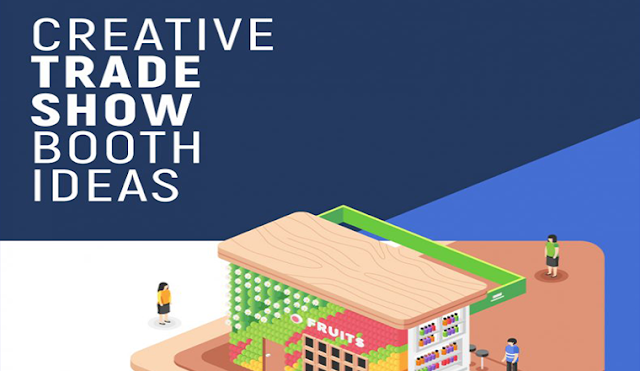 Creative Trade Show Booth Ideas #infographic
