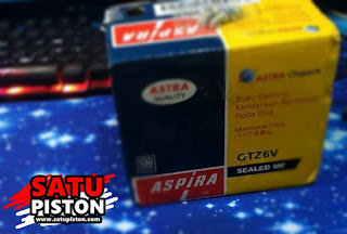 Unboxing dan Review Aki Aspira GTZ6V, Bagus Kah?