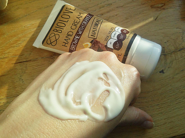 biolove kosmetyki brownie z pomarancza