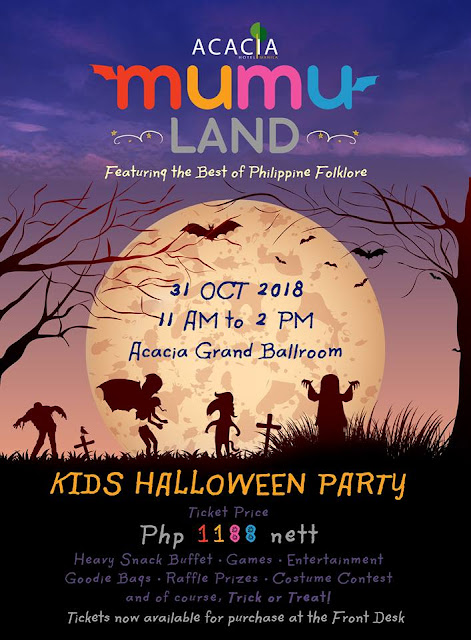 2018 Halloween Trick or Treat Events in Manila