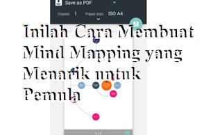Inilah Cara Membuat Mind Mapping yang Menarik untuk Pemula