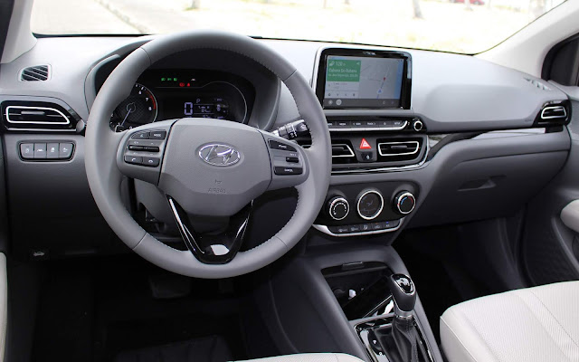 Hyundai HB20S (Sedã) 2020 - interior - painel