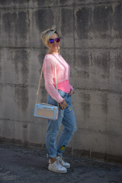 outfit jeans boyfriend come abbinare i jeans boyfriend abbinamenti jeans boyfriend outfit ottobre 2016 outfit autunnali mariafelicia magno fashion blogger colorblock by felym web influencer italiani blogger italiane di moda fashion blogger italiane