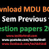 Mdu Previous Year Question Papers BCA 1st Sem 2018