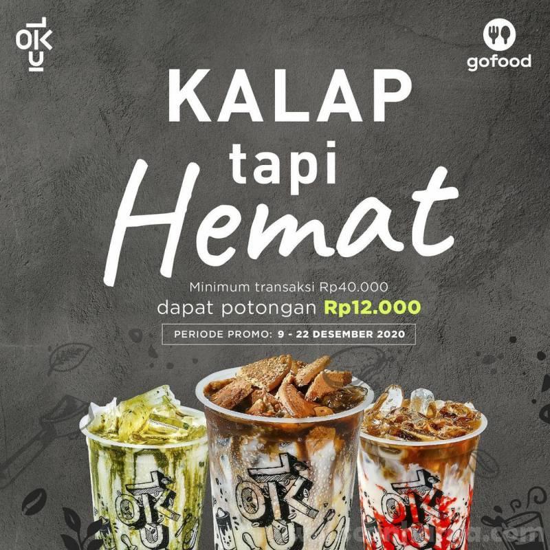 Kedai Kopi Kulo Promo Kalap Tapi Hemat - Potongan Rp 12.000 dengan Gofood