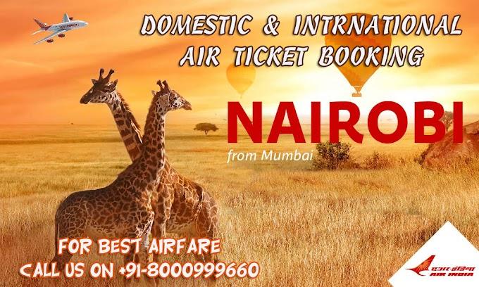 Nairobi From Mumbai - AirIndia