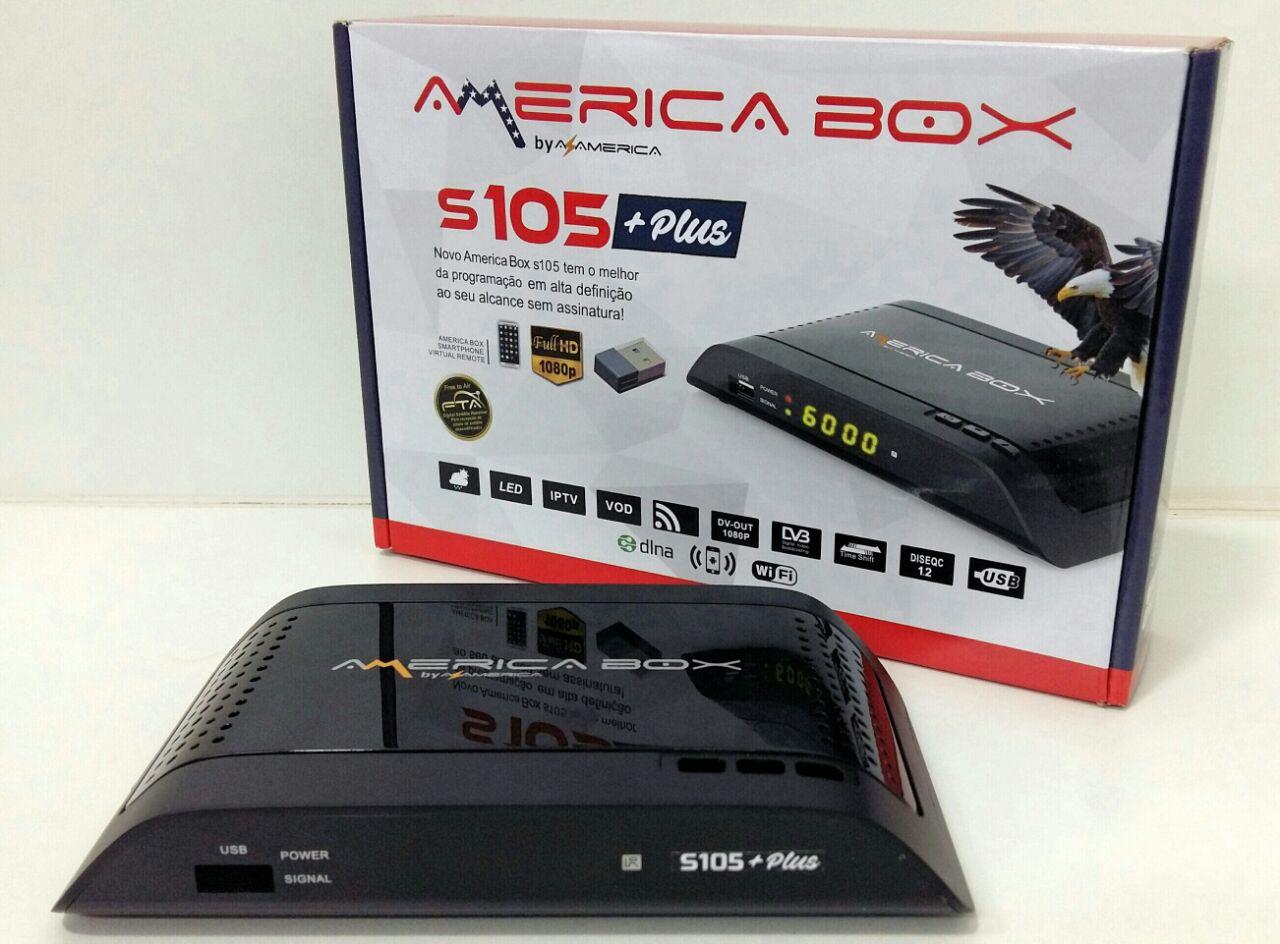 Resultado de imagem para AMERICA BOX S105 + PLUS