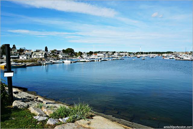 Puerto de la Colonia Artística Rocky Nest en Gloucester, Massachusetts