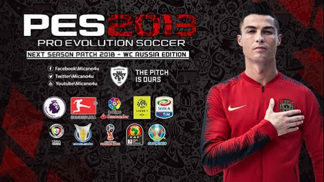PES 2013 Next Season Patch 2018 - WC Russia 2018