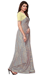 grey_satin_saree_photo