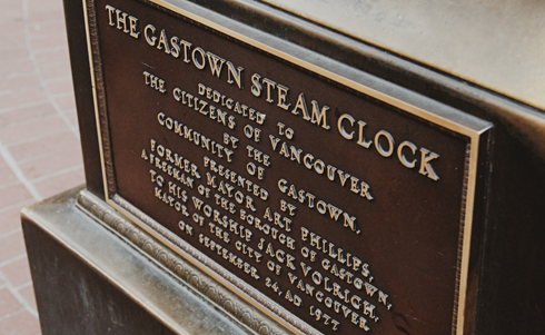 Gastown Steam Clock Vancouver BC