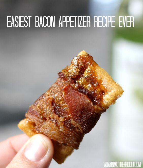 Easiest Bacon Appetizer Recipe Ever #APPETIZER #BACON