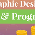 Graphic Designer: Expected Job Salary & Career Progression - Infographic