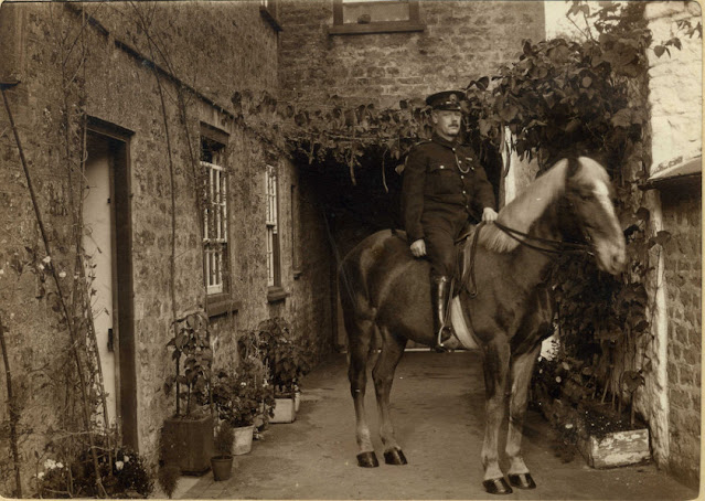 Supt. in uniform on a horse