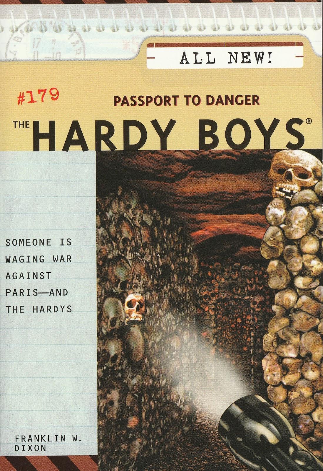 Double jeopardy hardy boys book report