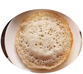 Here is the recipe of faraali appam for fasting in Shravan. It is crispy, soft, and tasty. Appam (Tamil: ஆப்பம், Malayalam: അപ്പം) is a type of pancake, which known also as hoppers, Ãppa, kallappam, vellappam, palappam. It is a type of pancake or griddlecake.