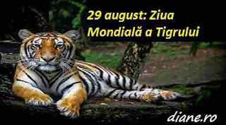 29 iulie: Ziua Mondială a Tigrului