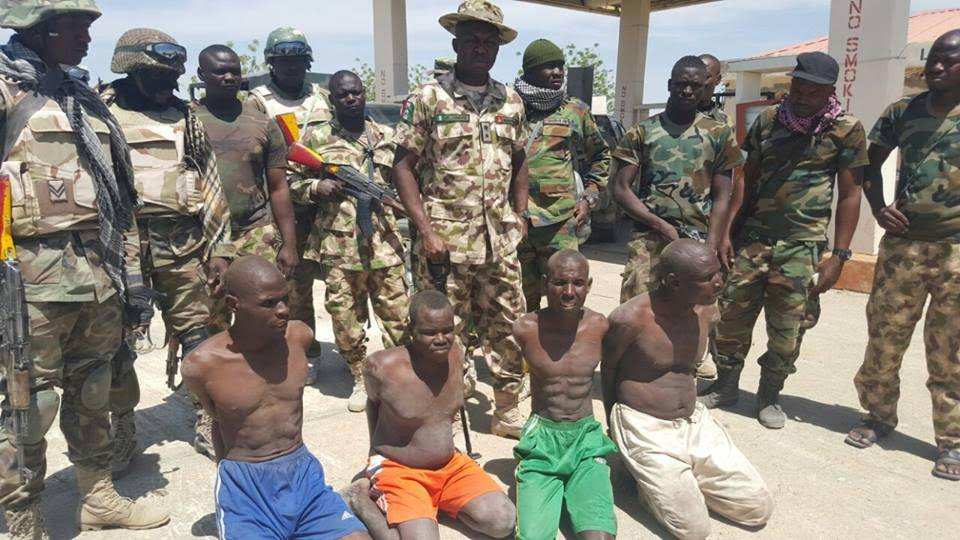 1a Photos: Boko Haram kingpins arrested by Troops