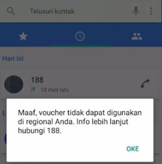 Kenapa Voucher Telkomsel Tidak Bisa Digunakan